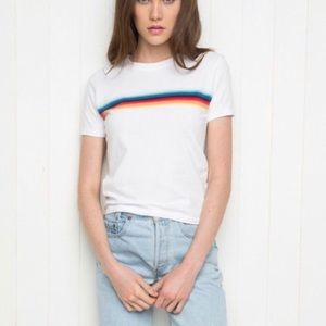 brandy melville rainbow t shirt